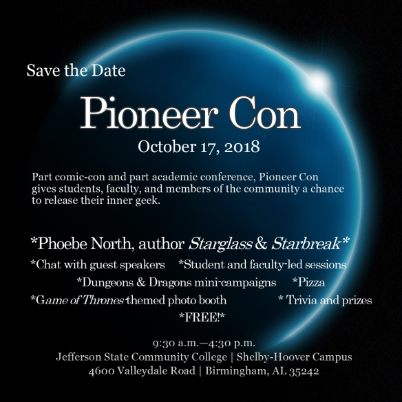 2018 Save the Date Pioneer Con Jefferson State (1)