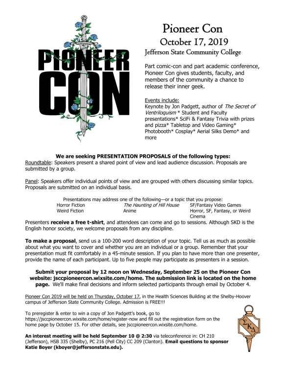 Pioneer Con 2019 CFP-1